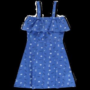 LEMON BERET meisjes jurk princess blue