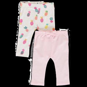LEMON BERET meisjes 2-pack legging orchid pink