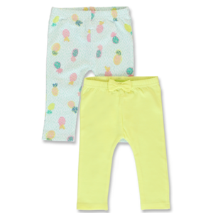 LEMON BERET meisjes 2-pack legging limelight