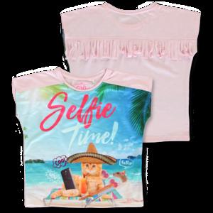 LEMON BERET meisjes t-shirt orchid pink