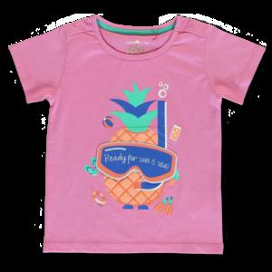 LEMON BERET meisjes t-shirt fushia pink