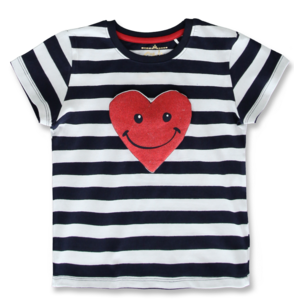 LEMON BERET meisjes t-shirt navy blazer