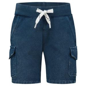 NOPPIES jongens korte broek dark denim millersville