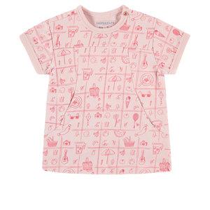 IMPS&ELFS meisjes t-shirt albertinia aop lotus