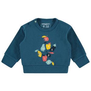 IMPS&ELFS jongens sweater boksburg majolica blue