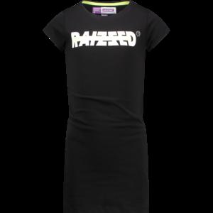 RAIZZED meisjes jurk deep black malaga