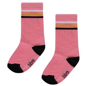 BEEBIELOVE meisjes sokken pink