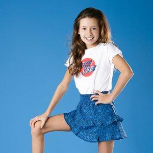 LITTLE MISS JULIETTE meisjes jurk blue nice cool