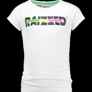RAIZZED meisjes t-shirt real white venice