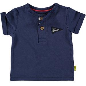 B.E.S.S. jongens t-shirt blue king of cool