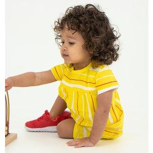 B.E.S.S. meisjes blouse yellow striped