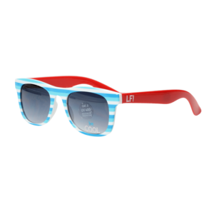LIEF! LIFESTYLE jongens zonnebril blue white red be cool