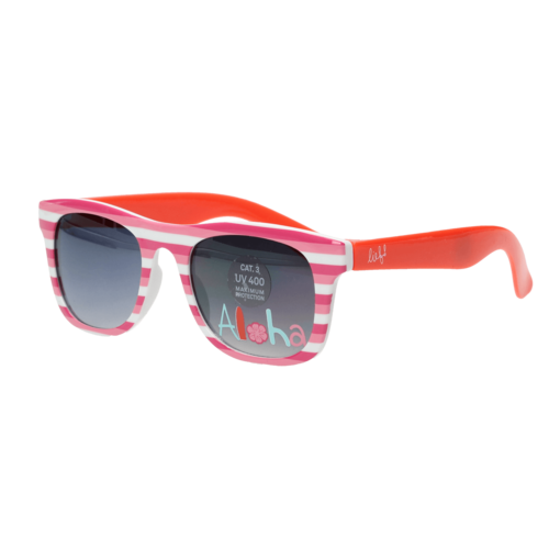 LIEF! LIFESTYLE Lief! Lifestyle meisjes zonnebril pink white red aloha