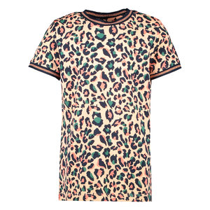 CARS JEANS meisjes t-shirt fluor coral marbilla