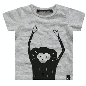 YOUR WISHES jongens t-shirt monkey face