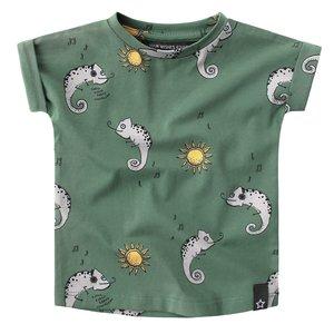 YOUR WISHES jongens t-shirt chameleon
