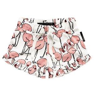 YOUR WISHES meisjes korte broek flamingo