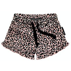 YOUR WISHES meisjes korte broek leopard pink