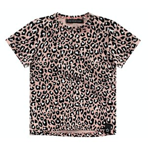 YOUR WISHES meisjes t-shirt leopard pink