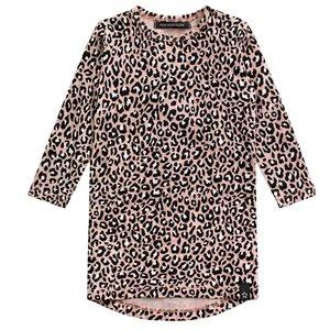 YOUR WISHES meisjes jurk leopard pink