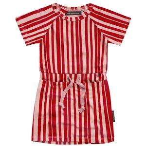 YOUR WISHES meisjes jurk pink stripes