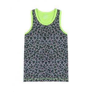 CLAESEN'S jongens hemd green leopard