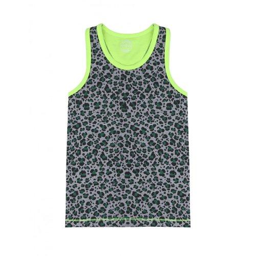 CLAESEN'S CLAESEN'S jongens hemd green leopard