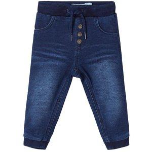 NAME IT jongens jeans broek dark blue sweat denim