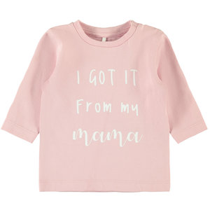 NAME IT meisjes longsleeve set pink nectar