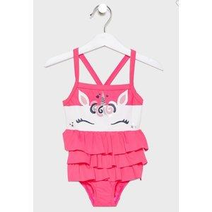 NAME IT meisjes badpak knockout pink
