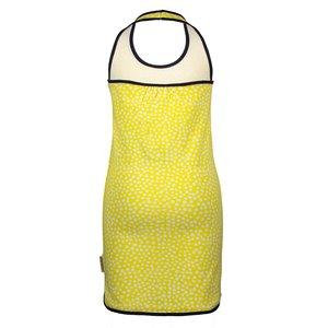 B.NOSY B.Nosy meisjes jurk dots lemon (valt klein)