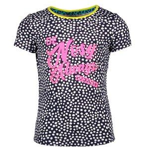B.NOSY meisjes t-shirt dots space blue
