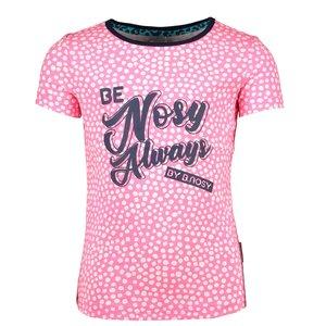 B.NOSY meisjes t-shirt dots pink lollypop