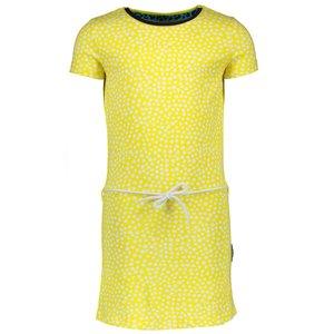 B.NOSY meisjes jurk dots lemon
