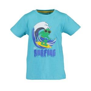 BLUE SEVEN jongens t-shirt cyan  monsters
