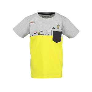 BLUE SEVEN jongens t-shirt fog game over