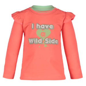 4PRESIDENT meisjes t-shirt neon coral kady