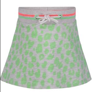 4PRESIDENT meisjes rok neon pastel green aop gitte