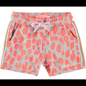 4PRESIDENT meisjes korte broek neon coral aop deena
