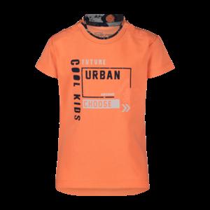 4PRESIDENT jongens t-shirt neon orange seb
