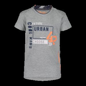 4PRESIDENT jongens t-shirt grey melange seb