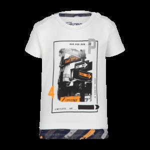 4PRESIDENT jongens t-shirt white lennart
