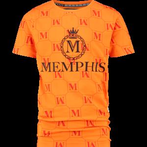 VINGINO jongens t-shirt hersie bright orange