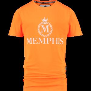VINGINO jongens t-shirt halvez bright orange memphis