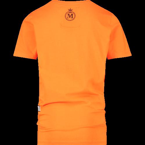 VINGINO VINGINO jongens t-shirt halvez bright orange memphis
