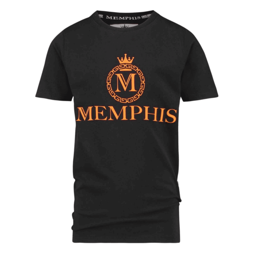 VINGINO VINGINO jongens t-shirt halvez deep black memphis