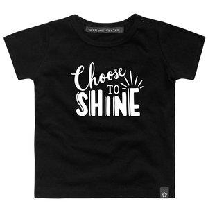 YOUR WISHES jongens t-shirt shine