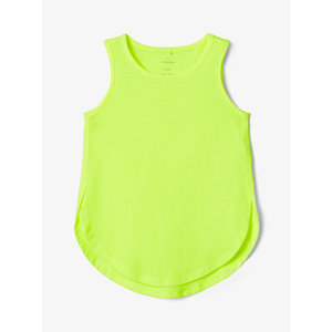 NAME IT meisjes hemd safety yellow