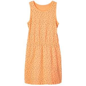 NAME IT meisjes jurk cantaloupe