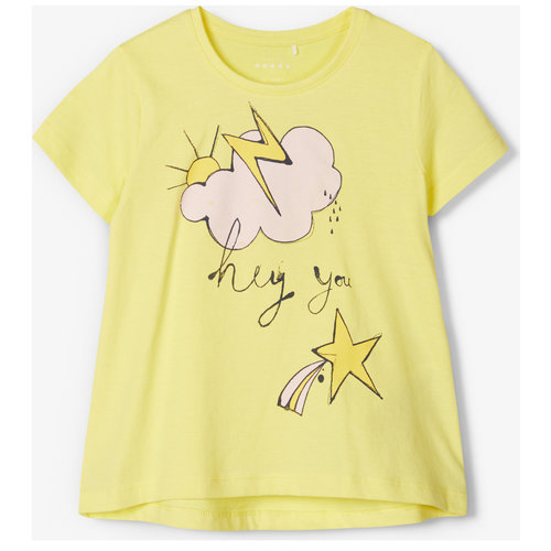 NAME IT Name It meisjes t-shirt limelight